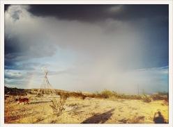storm / shadow / Terlingua, TX