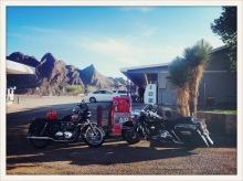 Triumph / Harley / Terlingua, TX