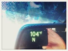 hot / Van Horn, TX