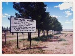 Van Horn Cemetery / Van Horn, TX