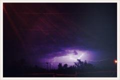 distant lightning / Van Horn, TX