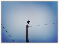 corner light / Van Horn, TX