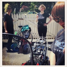 Babes on Bikes / captured by Dru / Parker / Vancouver