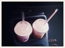 strawberry milkshakes / car / Surrey / Patryk