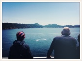 Galliano Island / my old home with Barbara Cole and David McWilliam