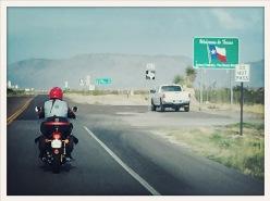 New Mexico - Texas line
