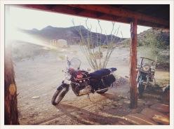 hot gravel ready / Terlingua, TX