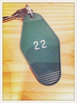 22 / green / key / Port Angeles, WA / May 30, 31
