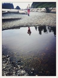 pool / Marianne / Ruby Beach, WA / May 31