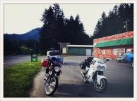 two bikes / Amanda Park, WA / May 31