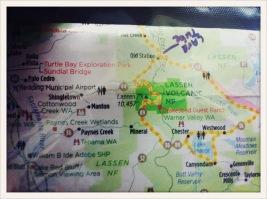 map / Redding, CA