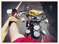 John's 70s Harley / Fallon, NV