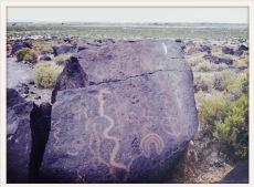 petroglyphs / Nevada