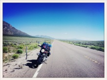 between Ely and Pioche, NV